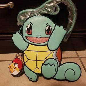 Super Cute Squirtal Pokemon Purse